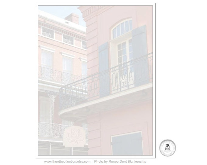 New Orleans Le Petit Theatre Notepad