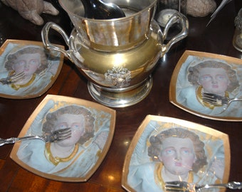 Angel Plate Set
