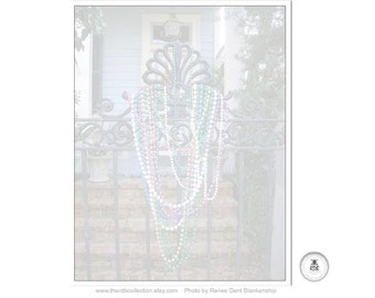 Beaded Gate Notepad
