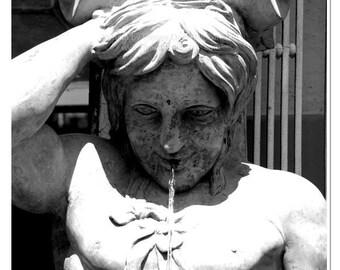 Triton Statue Photograph