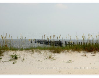 Pier at the Beach Photograph - Gulf Coast