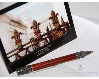 Fleur de Lis Cards - New Orleans Notecards - Fleur de Lis Stationery - New Orleans Photography - theRDBcollection