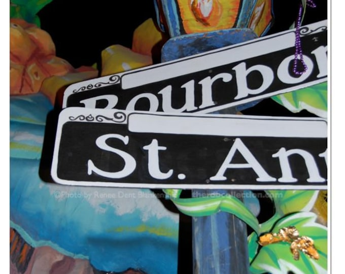 New Orleans Street Lamp Post Photograph