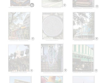 New Orleans Notepads - CHOOSE A NOTEPAD