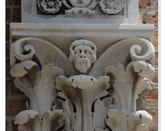 Acanthus Column Photograph