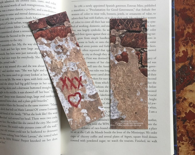 Featured listing image: FEATURED ON SALE this week - Blessings from Laveau Bookmark - Was 6 Now 5