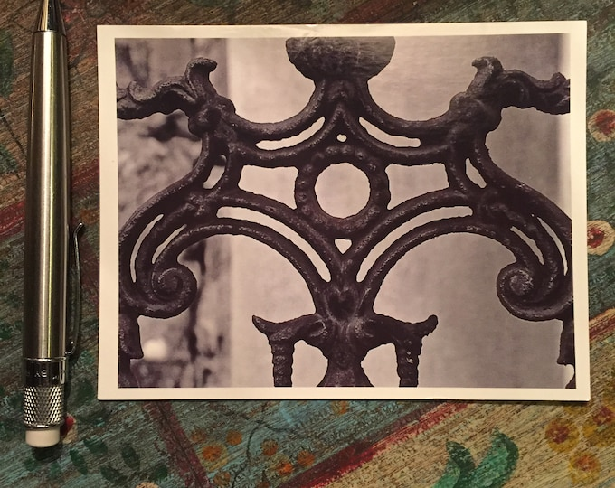 New Orleans Ironwork Postcards