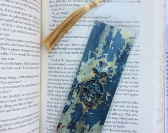 Ironwork in Blue Bookmark