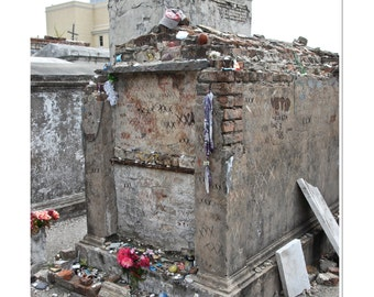 New Orleans Tomb Photograph