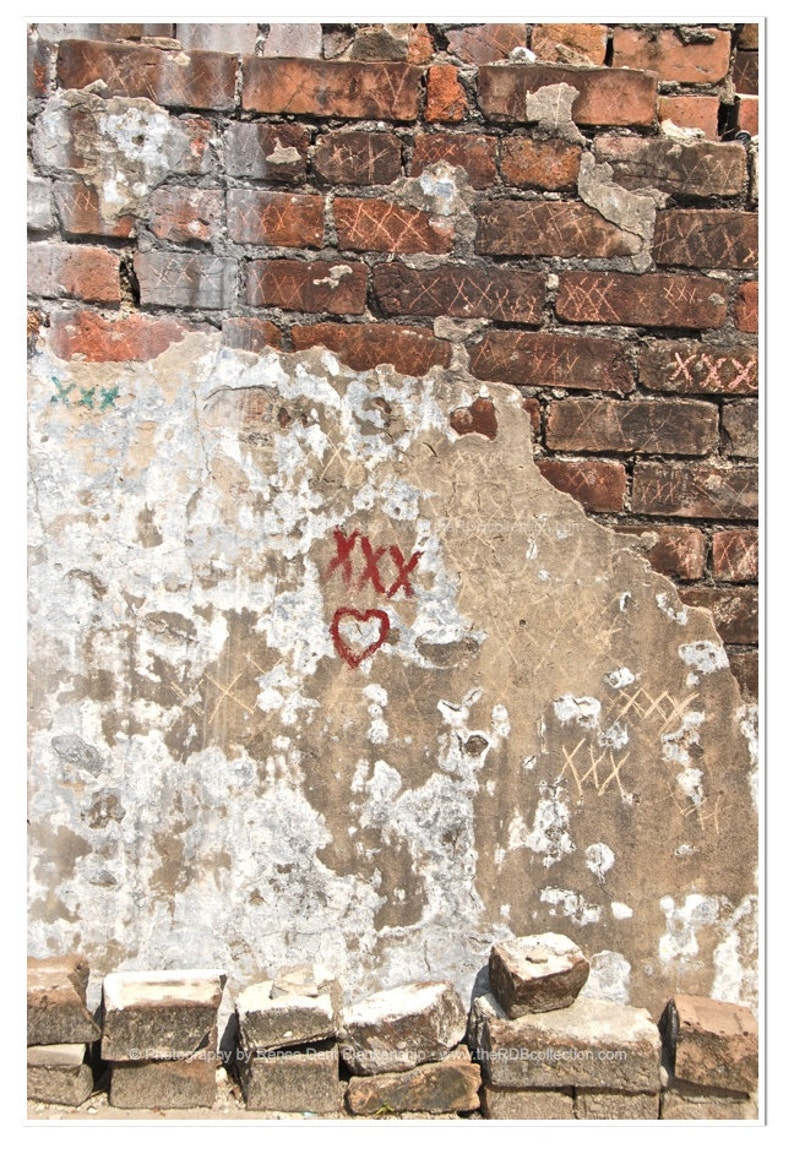 Renee Dent Blankenship Graffiti Wall Art Laveau Blessing Photo theRDBcollection New Orleans Cemetery