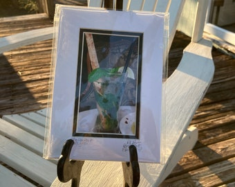 Mojito Photo Matted and Signed Tiny Art