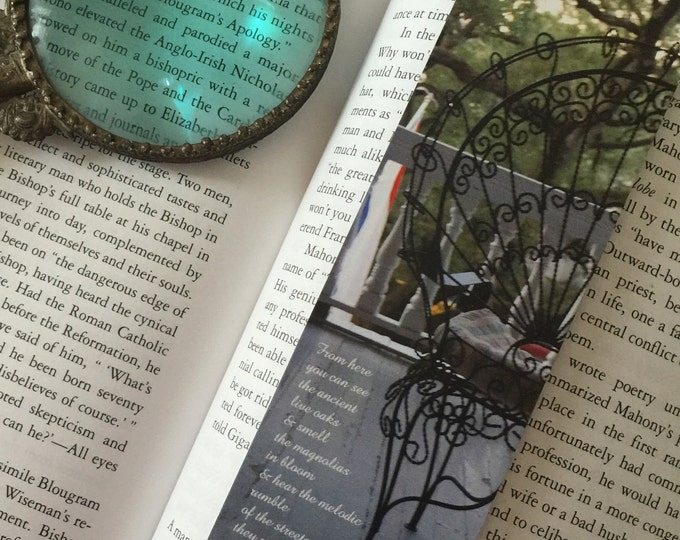 New Orleans Balcony Bookmark