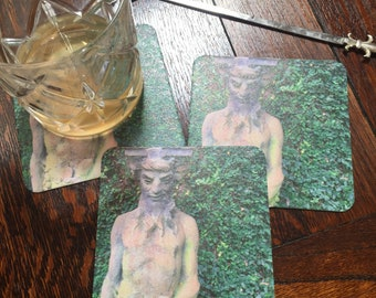 Puck Paper Coasters