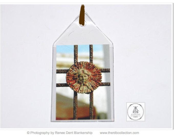 Girl Rosette Ironwork Bookmark