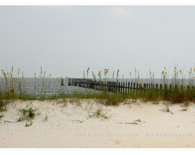 Pier at the Beach Photograph - Gulf Coast