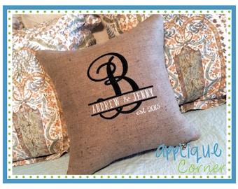 INSTANT DOWLOAD 2449 Elegant Split Font bx, jef, dst and pes only digital design for embroidery machine by Applique Corner