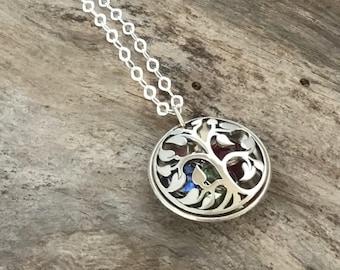 Birthstone necklace for Grandma, Grandma Jewelry, Grandma Gift, Birthstone Necklace, Grandma Necklace, Mom Necklace, Personalized Jewelry