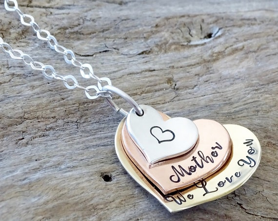 grandma necklace, gift for grandma,  mom necklace, personalized jewelry, family necklace, gift for mom, grandmother gift, nana necklace