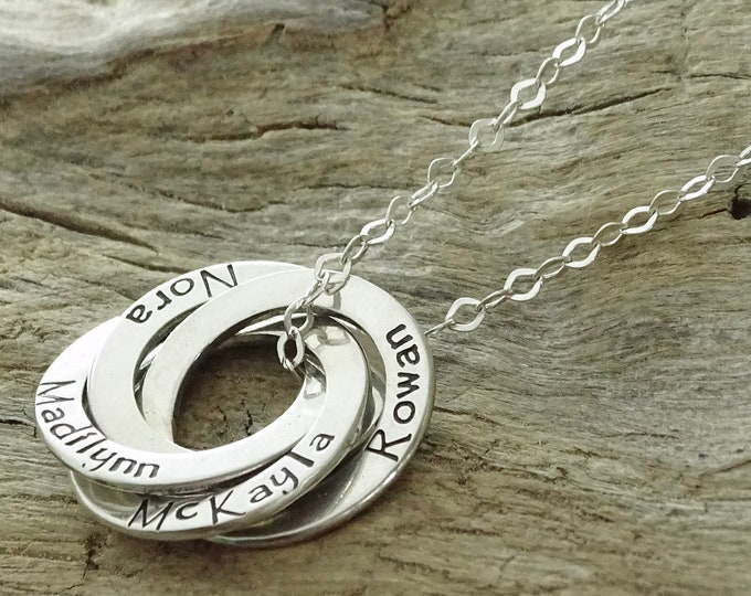 Grandma Gift, Personalized Grandma Gifts, Gifts for Mom, Personalized Grandmother Jewelry, Grandmother Necklace Grandma, Sterling Silver
