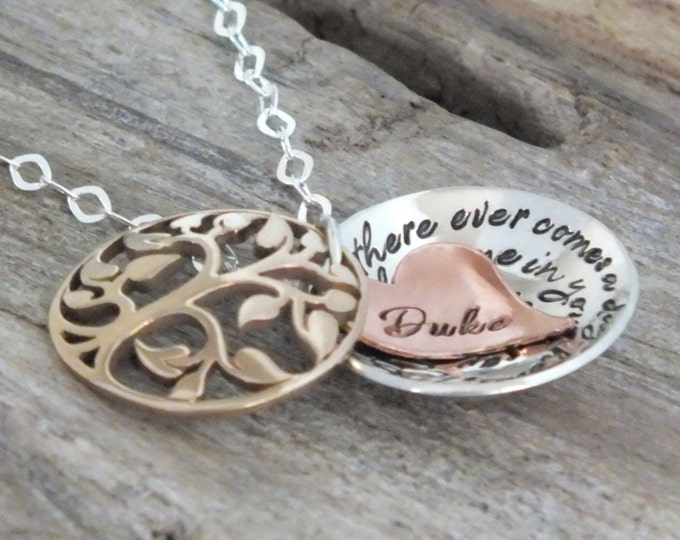 Long distance Relationships, Winnie the pooh quote, Long Distance Gifts, Great Grandma Gifts, Grandma necklace, Long distance necklace