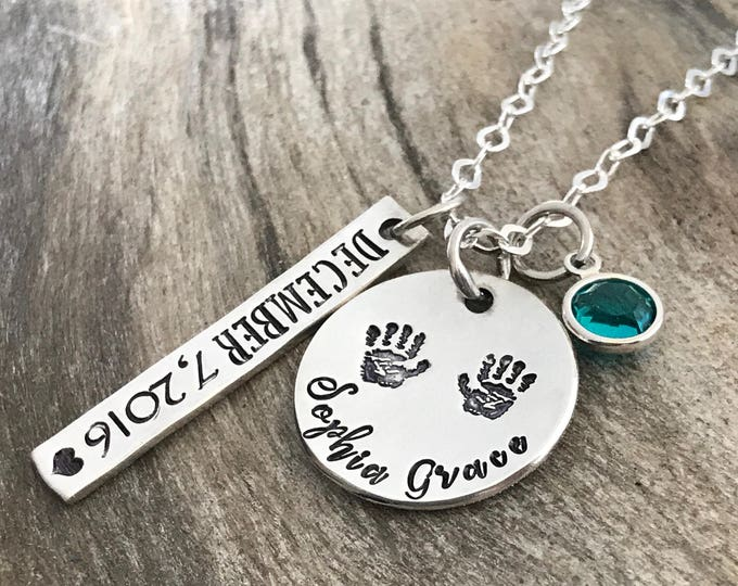 Gift for New Mom, New Mom Gift, New Mom Jewelry Necklace, New Mother Gift, New Mommy Gifts, Push Present, Birthstone Necklace