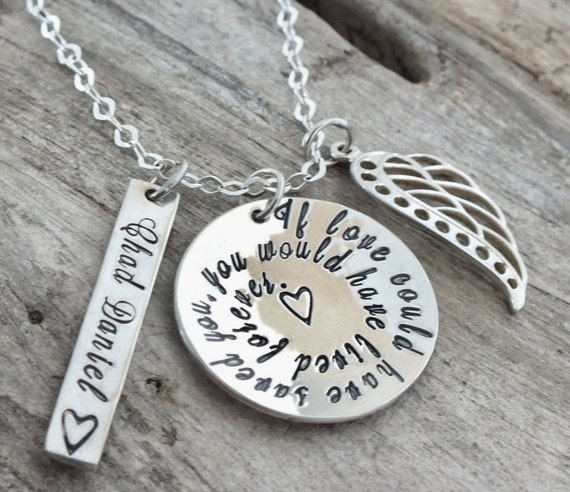 Loss of Mother, Loss of Father, Loss of Son, Loss of Brother, Loss of Aunt, Loss of Uncle, Loss of Sister, Gift for Loss, Memorial Necklace