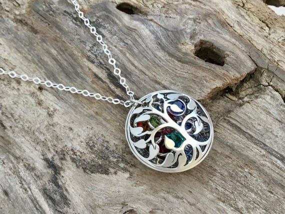 The Love Between a Mother and Daughter, Christmas Gift, Long Distance, Gift for Mom, Gift from Daughter, Mother Necklace, Sterling Silver