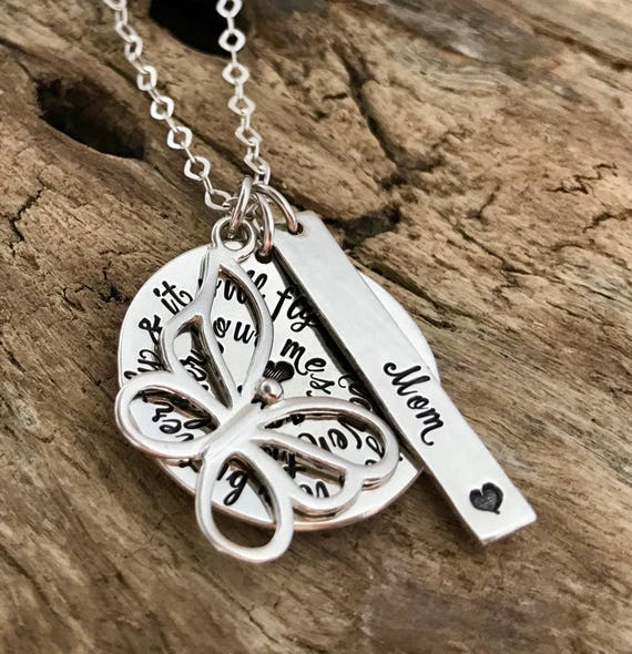 Bereavement Jewelry, In memory of Sympathy Gift, Sympathy Gift Mother, Condolence Gift, Memorial Gift, In Loving Memory, Butterfly Necklace