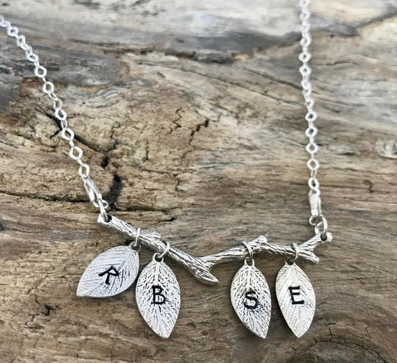 initial necklace, personalized jewelry, letter necklace, gift for her, initial jewelry, monogram necklace, sterling silver, personalized