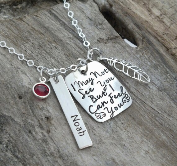 Memorial necklace, Loss of Loved One Jewelry, Memorial Necklace, In Memory of Daughter Son Child Dad Mom Grandma Grandpa, Funeral, Sympathy