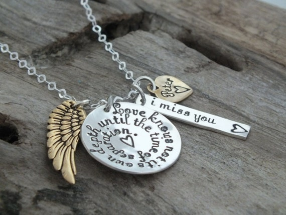 Shakespeare necklace, Bereavement gift, In memory of Husband Boyfriend, Loss of Spouse, Remembering a loved one, Shakespeare jewelry