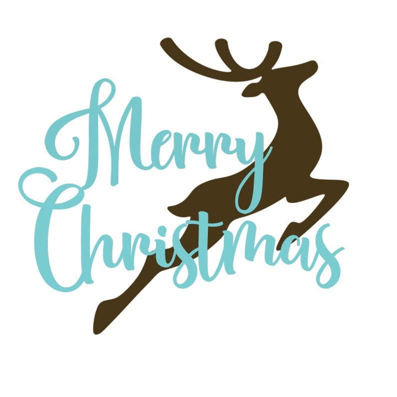 Schablone Frohe Weihnachten.Frohe Weihnachten Rentier Geschichtet Svg Datei Schablone Design Schnitt Schneiden