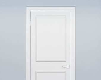 Self-Adhering Moulding ~ Two Piece Applied Door Moulding Kit ~ Get the custom, high-end look, quickly and easily!