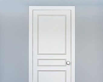 Self-Adhering Moulding ~ Three Piece Applied Door Moulding Kit ~ Get the custom, high-end look, quickly and easily!