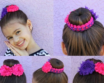 Braided Hair Bun Wrap