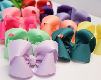Baby Hair Bows, Hair Bows for Girls, Baby Bows, Hair Bows, Girls Hair Bows, Toddler Hair Bows, Hairbows, Hair Bows for Toddlers, Big Bows