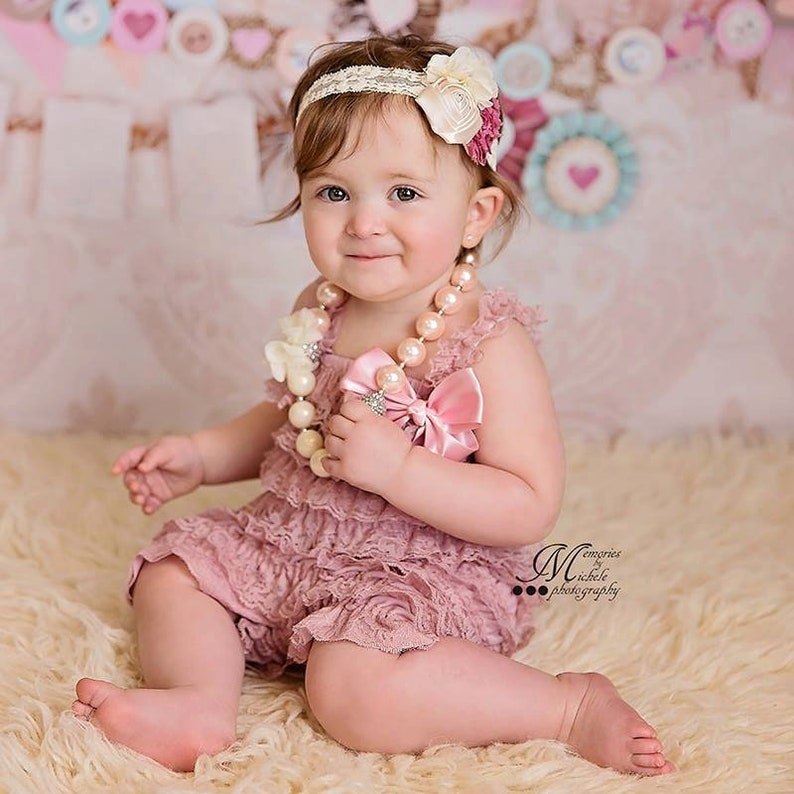 e483a7c2b0f1 1st Birthday Girl Outfit Cake Smash Outfit Girl Baby Girl