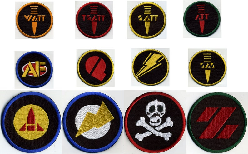 """F Force Special Weapons GI Joe Action Force 3/"""" Iron-on Patch"""