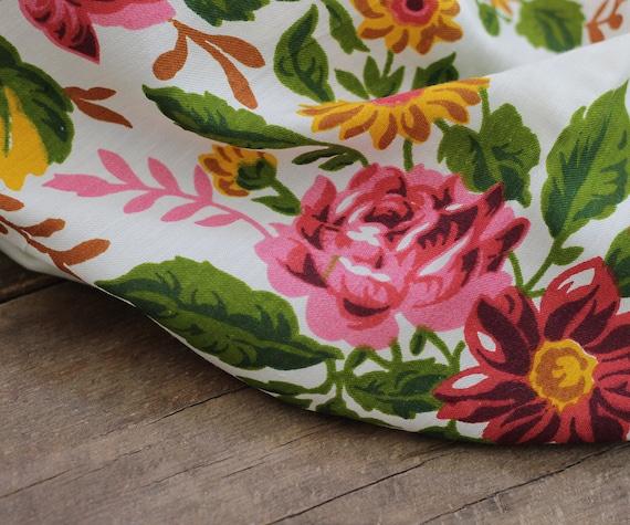 white floral silk shawl, white floral shawl, Russ… - image 7