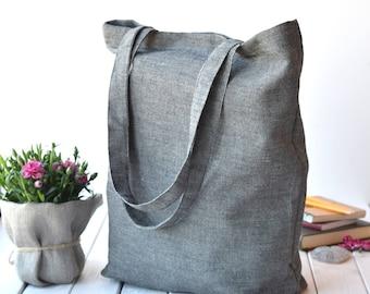 Canvas bag, Canvas tote bag, Everyday Tote, sac cabas, Tote bag, Linen bag, sac, bolso, farmers market bag, Shopping bag, Canvas tote, linen