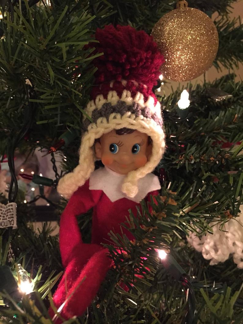Crochet Hat for Santa's Elf image 0