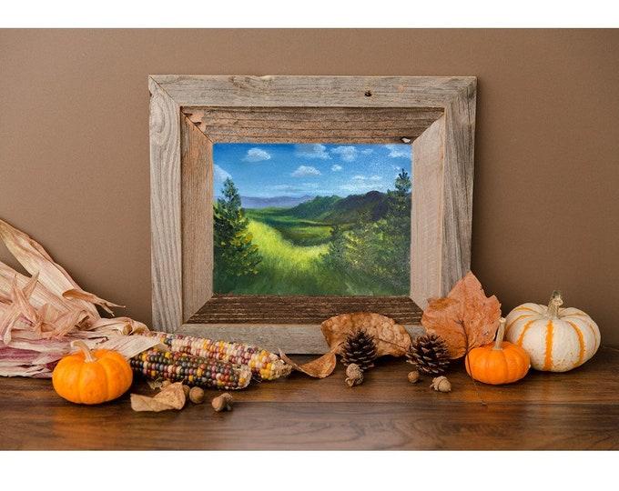 Original landscape oil painting Nicolae Art Nicole Smith Artist 8x10