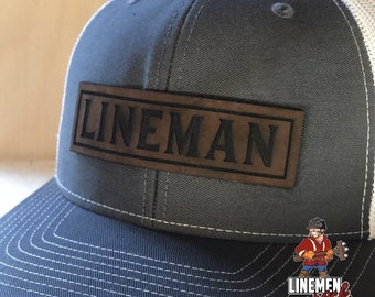 9ff47859ebc Lineman Leather Patch Hat Linelife