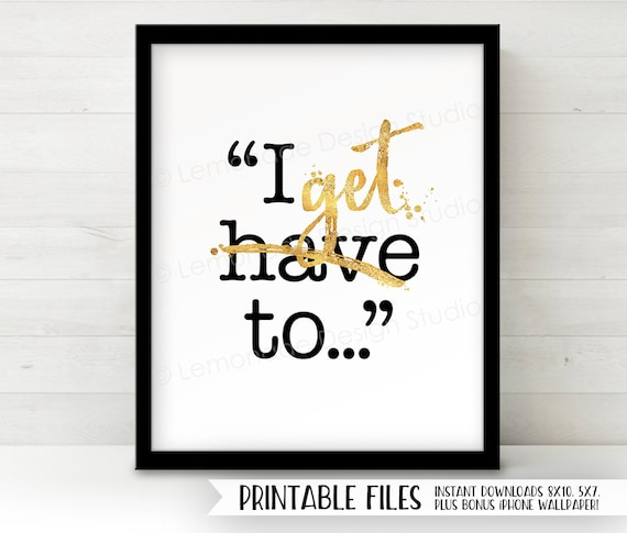 Printable Inspirational Quote Positive Inspiration Printable Quote