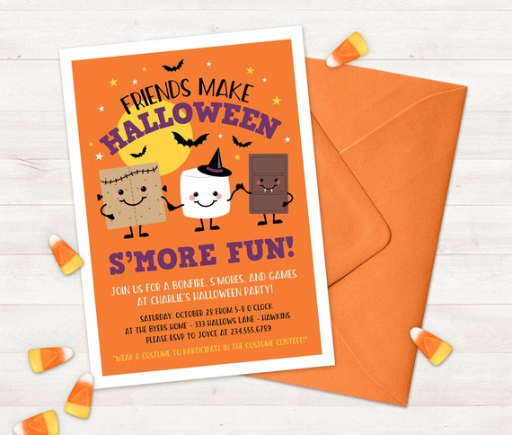 Halloween Invitation For Kids Printable Halloween Party Invitations