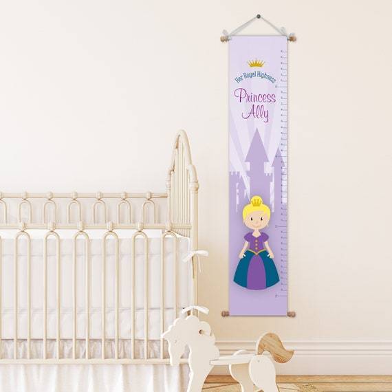Princess Growth Chart Growth Chart Kids Growth Chart Etsy