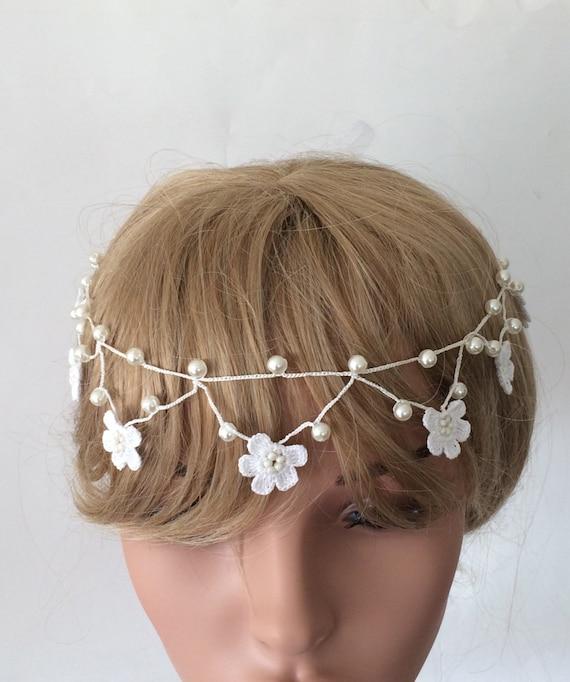 Women Pearl Headband Girls Elegant Hair Band Wedding Party Hair Accessories