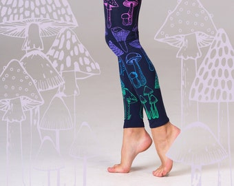 5a6ef440ecf27 Wonderland - navy leggings