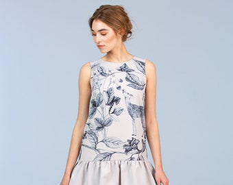 Morning in the Garden - dress with frills