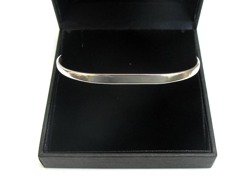 10f3e74195c 925 Sterling silver solid cuff bangle handmade artisan | Etsy